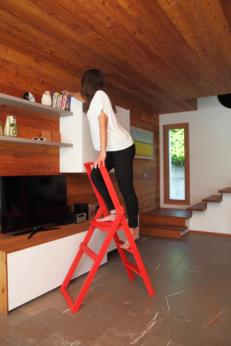 Wood ladder portable Star