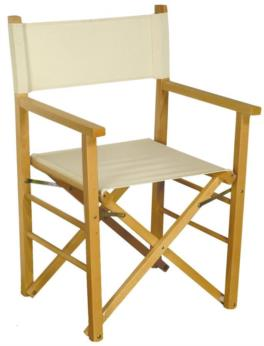 Wood folding chair Montecarlo