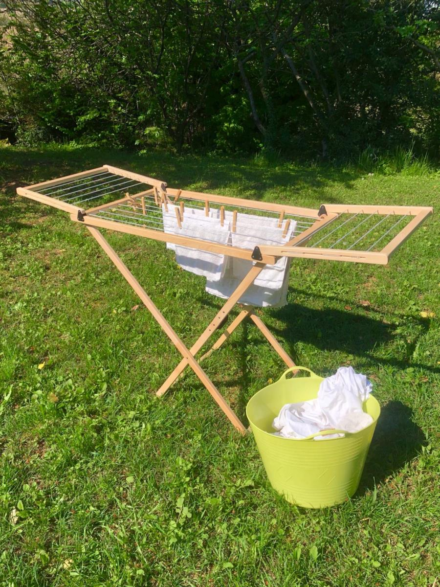 FLY folding wood clothes dryer