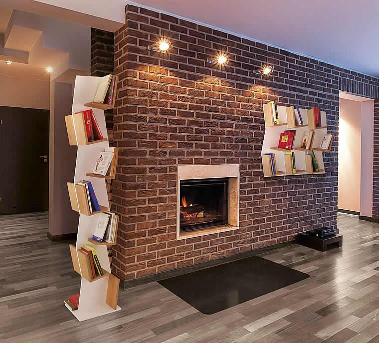 design bookshelf Suste by Del Fabbro