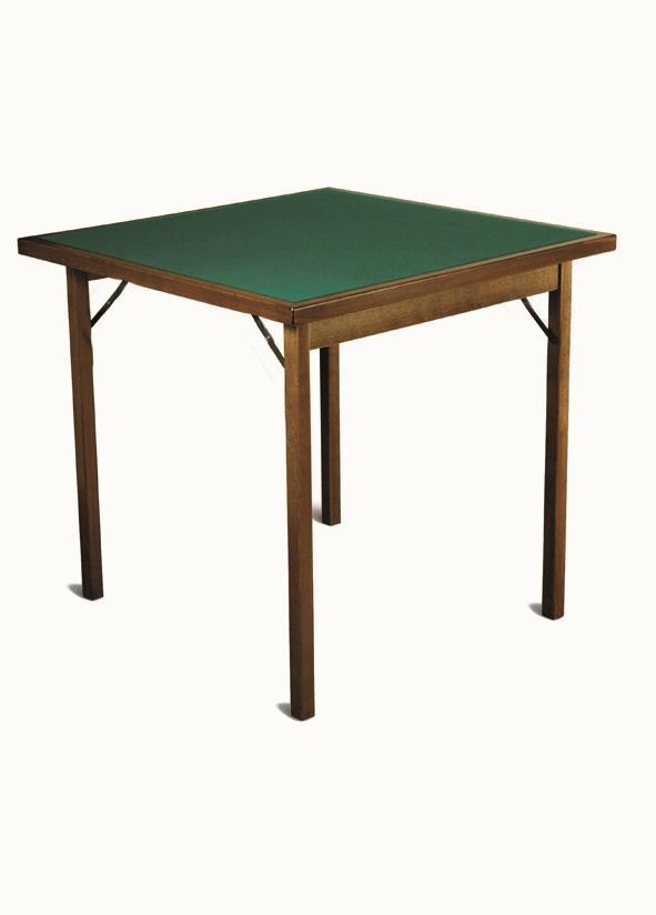wood card table Classic di Del Fabbro
